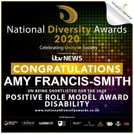 National Diversity Awards 2020 Shortlisting