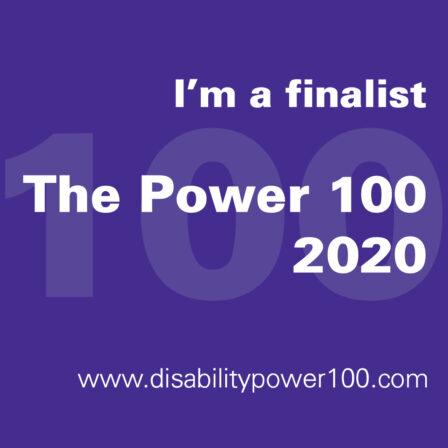 Shaw Trust Disability Power 100 2020 Shortlisting